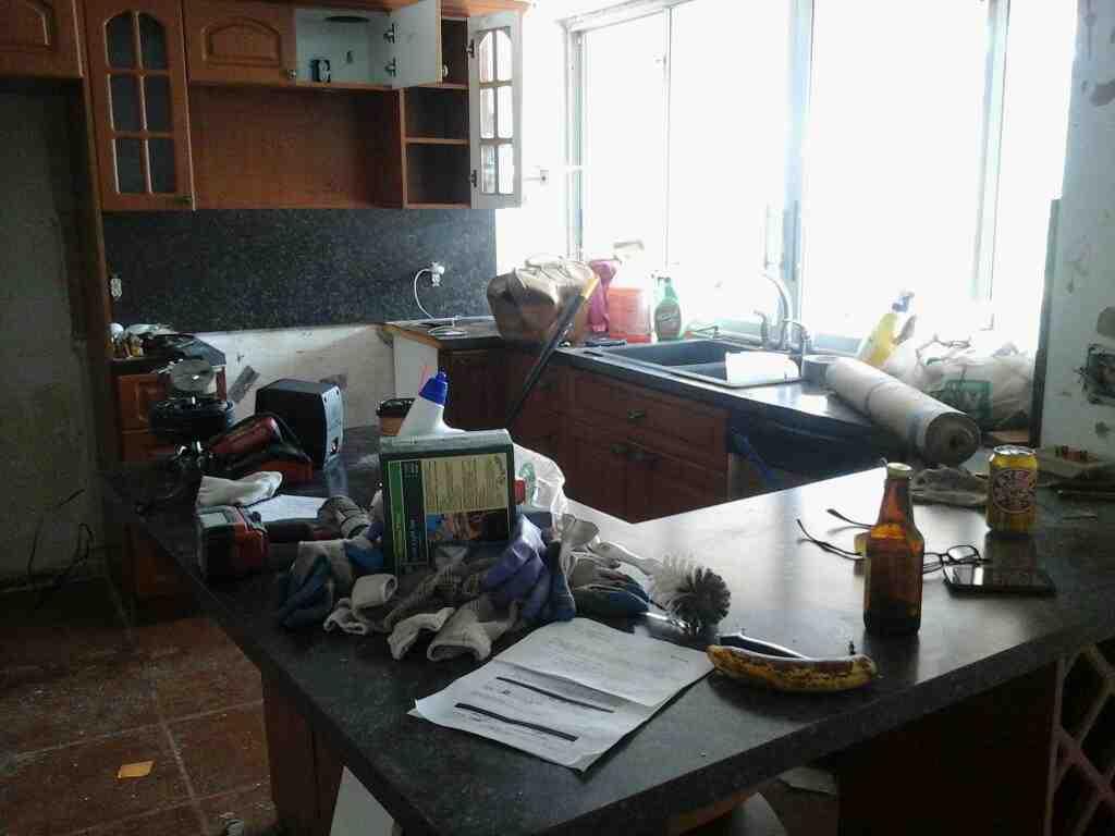 Florida kitchen before remodel