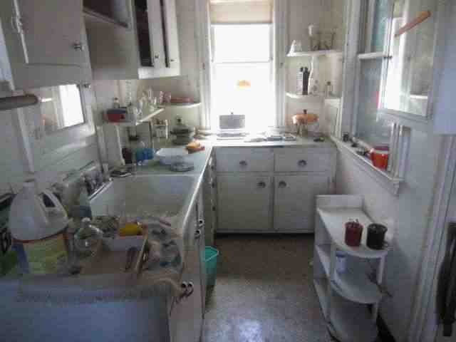 Kitchen before hard money funded renovations
