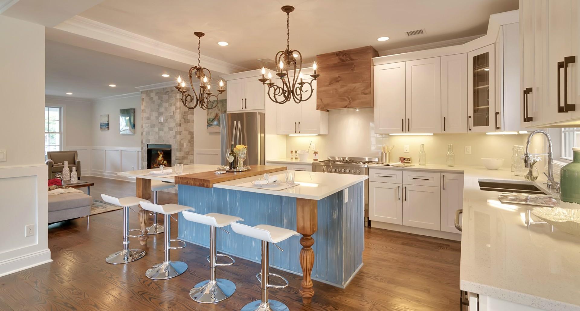 Fix and flip hard money loan kitchen