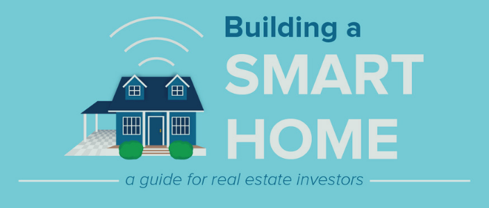 Smart home in fix and flip infographic