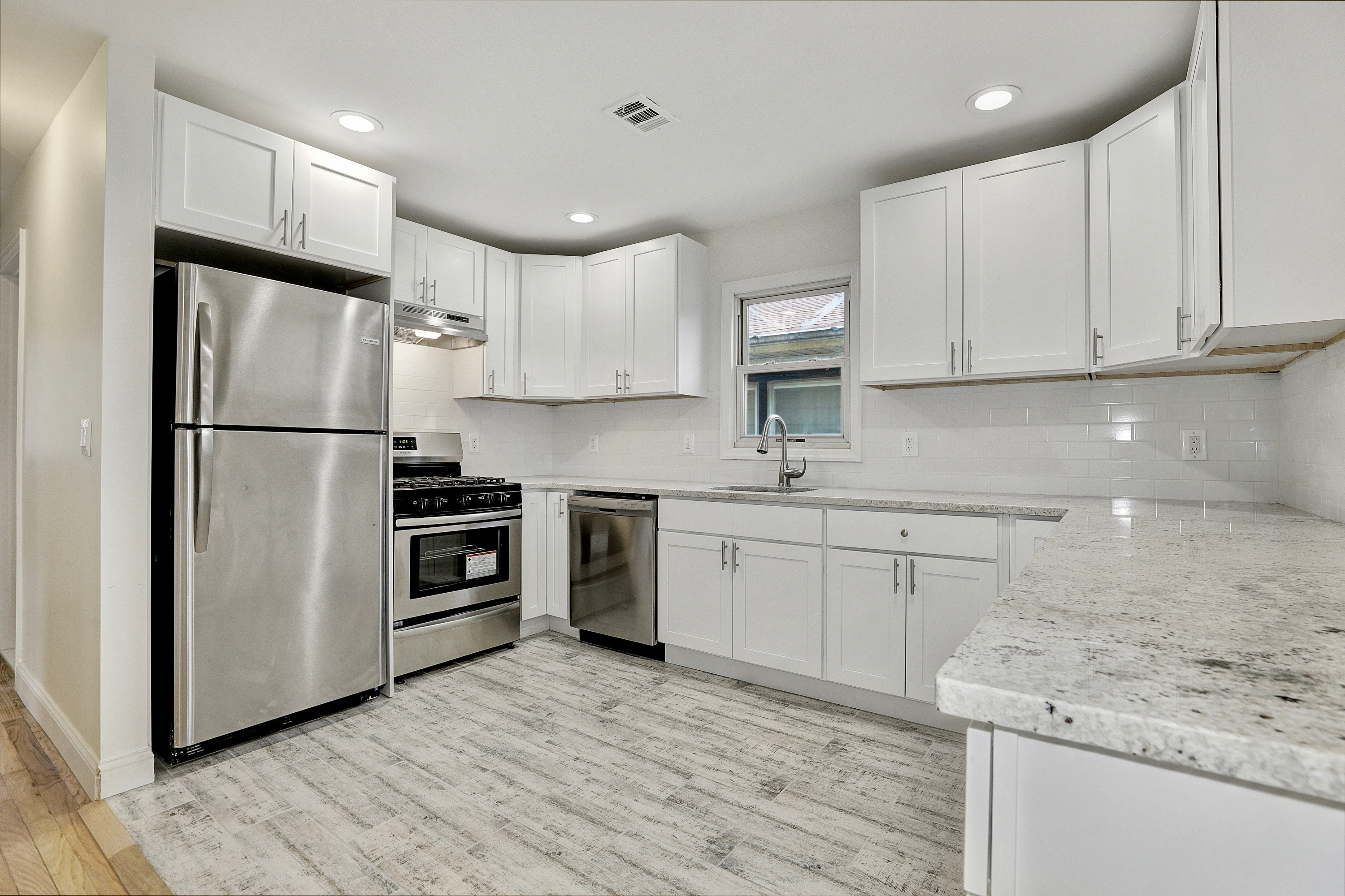 kitchen after hard money loan renovations