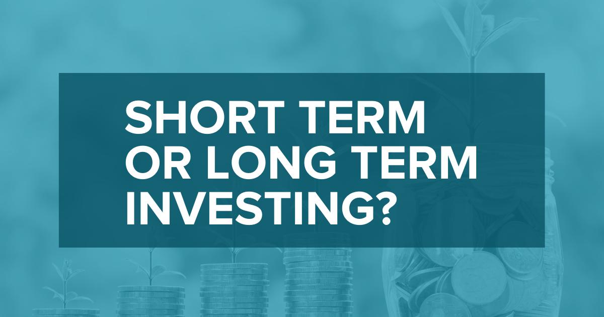 short term vs long term real estate investing